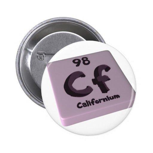 Californio de los Cf Pin