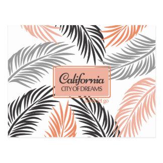 """""""Californita, ciudad coral de los sueños"""" y fronda Postal"""