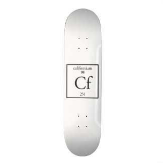 Californium Custom Skate Board