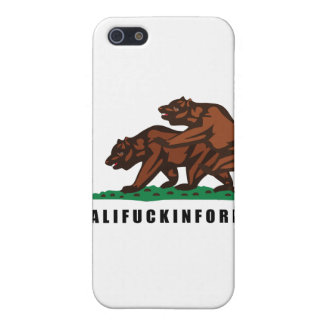 CALIFUCKINFORNIA CASES FOR iPhone 5