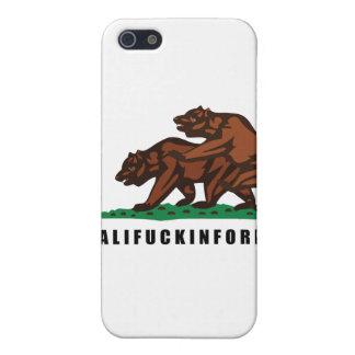 CALIFUCKINFORNIA iPhone 5 CASES