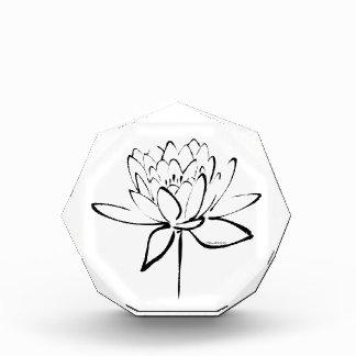 Caligrafía de Lotus (negro)