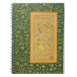Caligrafía de Mir Ali del corazón, con un bor de M Cuadernos