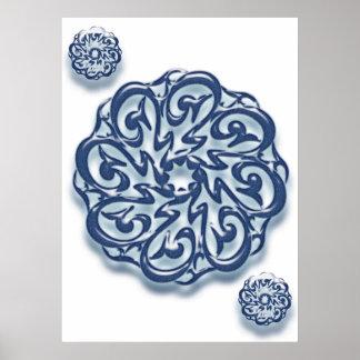 Caligrafía de Mohammed (pbuh)… Posters
