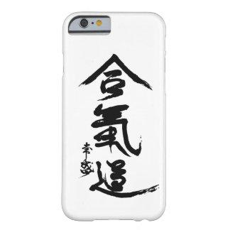 Caligrafía de O'Sensei del kanji del Aikido Funda Para iPhone 6 Barely There