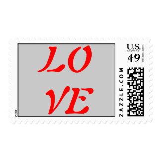 Caligrafía del vintage - sellos del amor