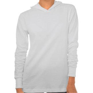 Caligrafía feliz y brillante del navidad camiseta