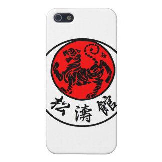 Caligrafía japonesa del sol naciente de Shotokan - iPhone 5 Funda