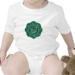 Caligrafía musulmán árabe que dice a Alá Traje De Bebé