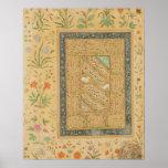 Caligrafía por el al-Mashhadi principal iraní de A Impresiones