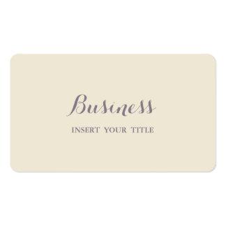 Caligráfico elegante de moda minimalista de la tarjetas de visita