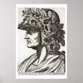 Caligula Caesar (12-41 AD), 1596 (engraving) Poster