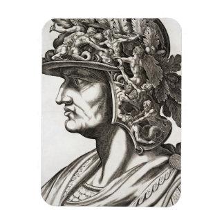 Caligula César (12-41 ANUNCIO), 1596 (grabado) Iman