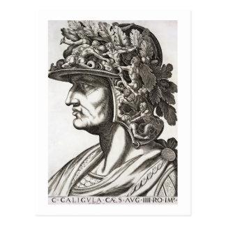 Caligula César (12-41 ANUNCIO), 1596 (grabado) Postales