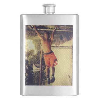 Calisthenics Human Flag Exercise Classic Flask