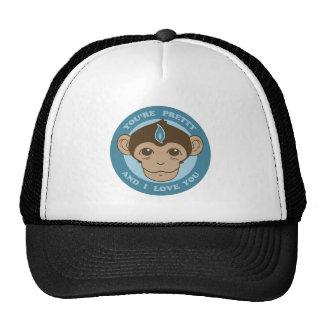 Cáliz de la mente del mono gorras de camionero