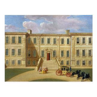 Calke Hall, Derbyshire, the Seat of Sir Henry Harp Postcard