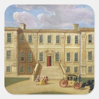 Calke Hall, Derbyshire, the Seat of Sir Henry Harp Sticker