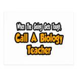 Call a Biology Teacher Post Cards
