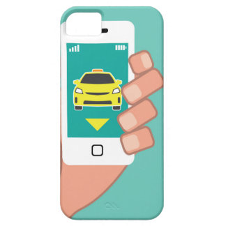 Call a Cab on Smart Phone iPhone SE/5/5s Case