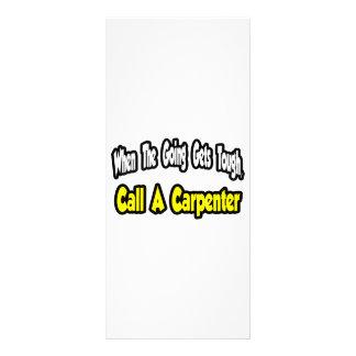 Call a Carpenter Rack Card Template