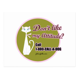CALL-A-DOG POSTCARD