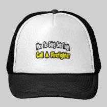 Call a Firefighter Hats