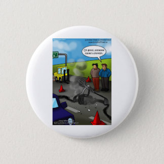Call A Forklift Funny Gifts Tees Mugs etc Button