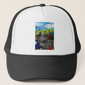Call A Forklift Funny Gifts Tees Mugs etc Trucker Hat