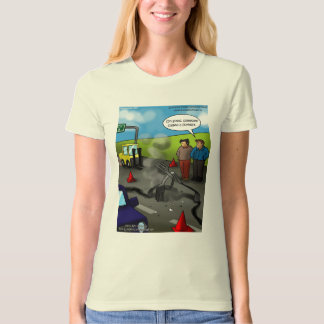 Call A Forklift Womens !00% Organic Cotton Tees