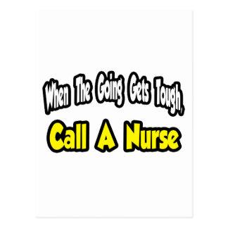 Call a Nurse Postcard