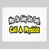 Call a Physicist Custom Announcement