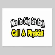 Call a Physicist Postcard