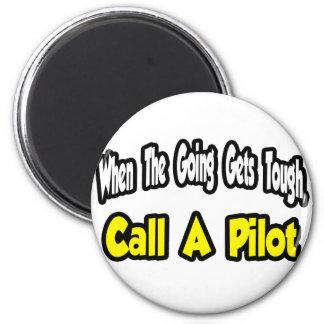 Call a Pilot Fridge Magnets
