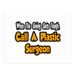 Call a Plastic Surgeon Post Card