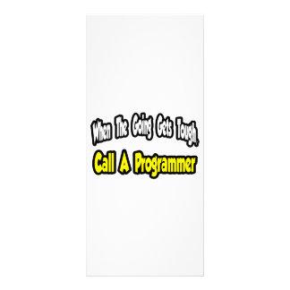 Call a Programmer Rack Cards