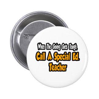 Call a Special Ed. Teacher Buttons