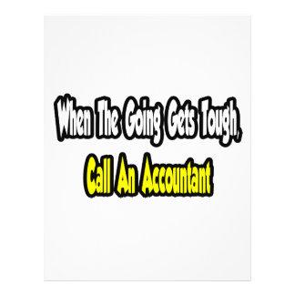 Call an Accountant Custom Flyer
