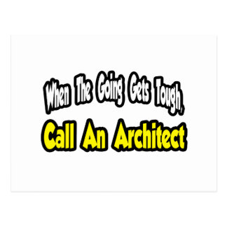 Call an Architect Post Cards
