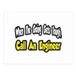 Call an Engineer Postcards