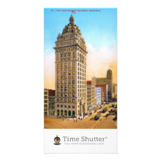 Call Building Custom Photo Card