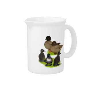 Call Duck Khaki Family Drink Pitcher