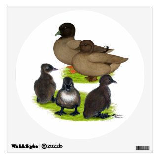 Call Duck Khaki Family Wall Decal