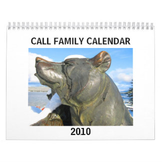 Call Family Calendar 2010