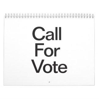 Call For Vote.ai Calendar