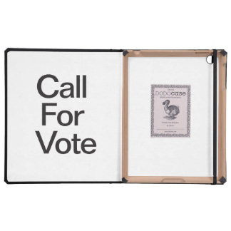 Call For Vote Case For iPad