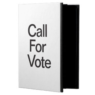 Call For Vote iPad Air Case