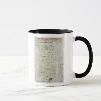 Call from Maximilien de Robespierre Mug
