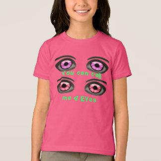 Call me 4 Eyes-Style: Girls' Basic American T T-Shirt