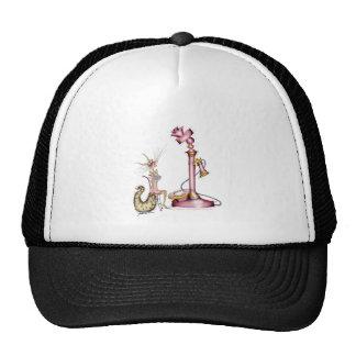 call me - a fun cat cartoon, tony fernandes trucker hat